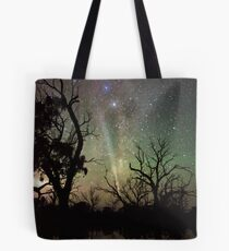Comet Lovejoy Silhouettes Tote Bag