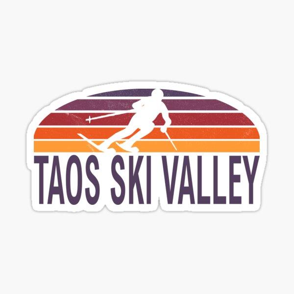 Taos Ski Sticker Skiing Snowboarding Burton New Mexico Mountain Sports