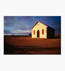 Silverton Methodist Church  Photographic Print