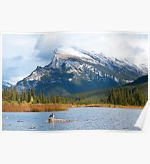 Mt Rundle Poster