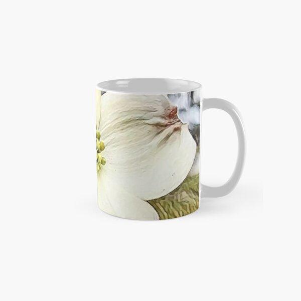 White Dogwood Blooms Classic Mug
