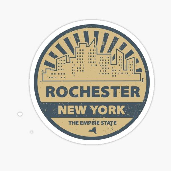 Rochester Vintage Circular Logo Sticker