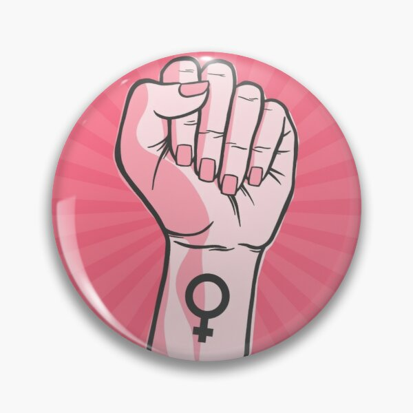 Feminist Fist Pin