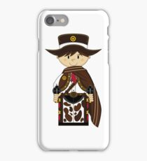 Cute Cowboy Sheriff in Poncho iPhone Case/Skin