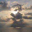 The sun is hiding - El Sol se esconde by PtoVallartaMex