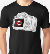 Canon 7D with AGC disable Unisex T-Shirt