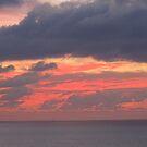 Red and Grey Sky - Cielo en Rojo y Gris by PtoVallartaMex
