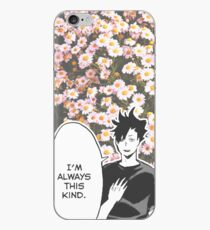 Haikyuu!! Kuroo Quote (Option 2) iPhone Case