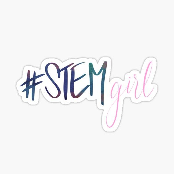 #STEMgirl Sticker