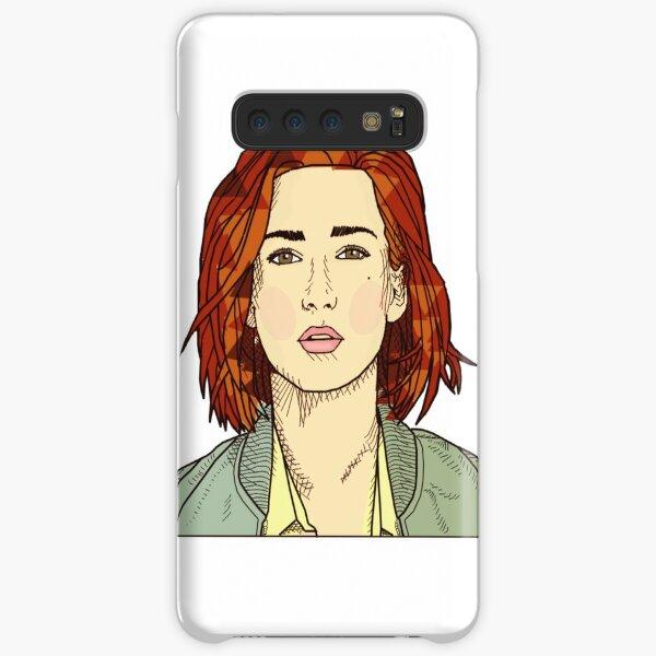 Bomber Jacket Kat Samsung Galaxy Snap Case