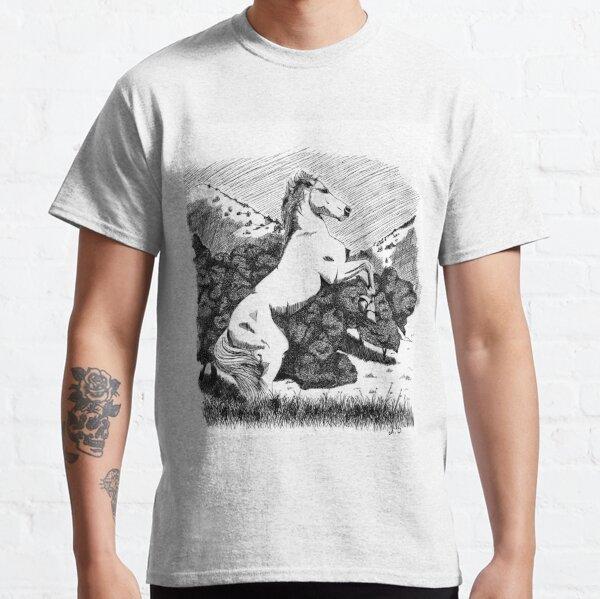 Cheval debout T-shirt classique