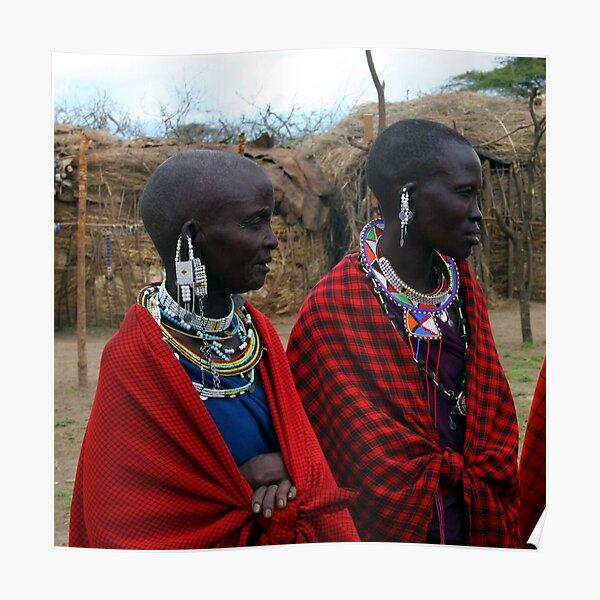 Massai Wives of the Serengeti Poster