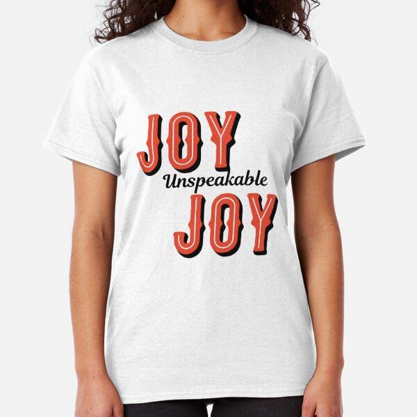 Christmas Unspeakable Halloween Ladies Girls Tshirt Funny Present Sale T-Shirt