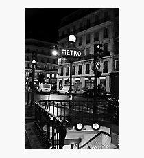 metro,,,, Photographic Print