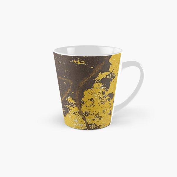 Print Work Yellow   Tall Mug
