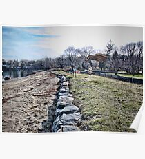 Lovely Beach at Wickford - Rhode Island  Poster