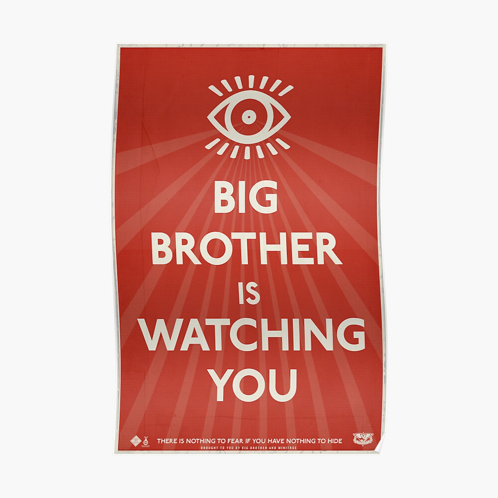 "Big Brother is Watching You Poster 27/""x40/"""