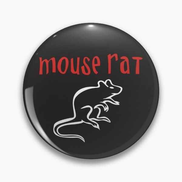 Mouse Rat Forever Pin