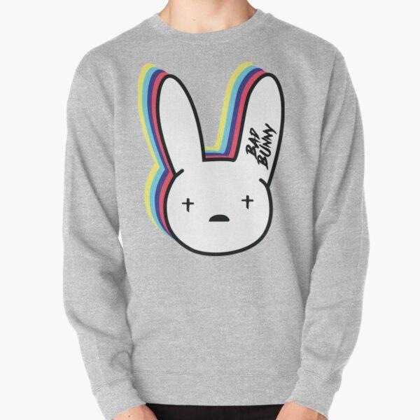 Bad Bunny Logo Sudadera sin capucha