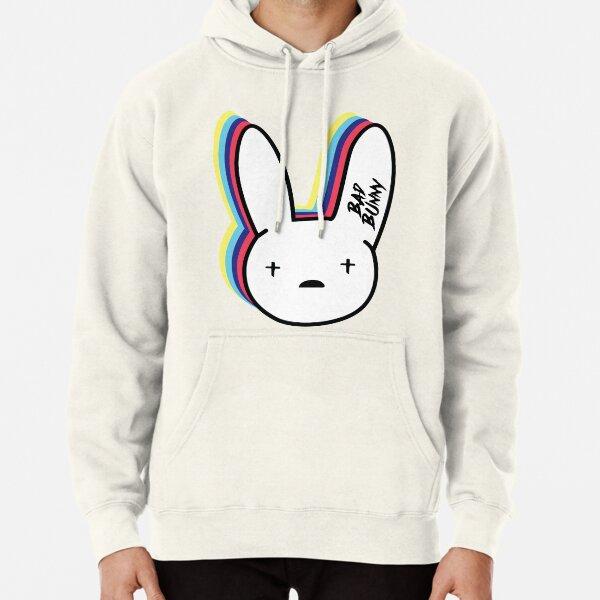 Bad Bunny Logo Pullover Hoodie