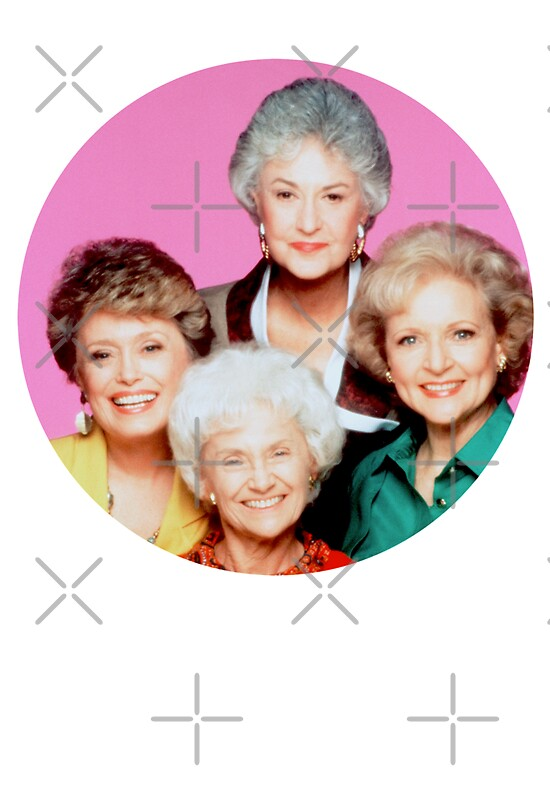 The Golden Girls Stickers Redbubble