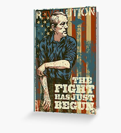 The Fight Has Just Begun Greeting Card