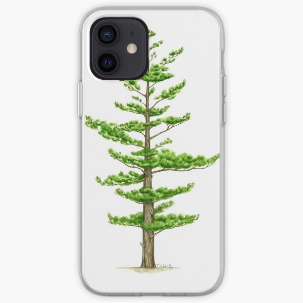 White Pine (Pinus strobus) iPhone Soft Case