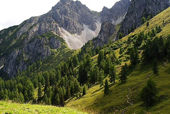 Austria Mountains by HollieJade