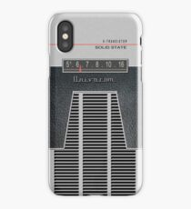 Transistor Radio - 60's Slots iPhone Case/Skin