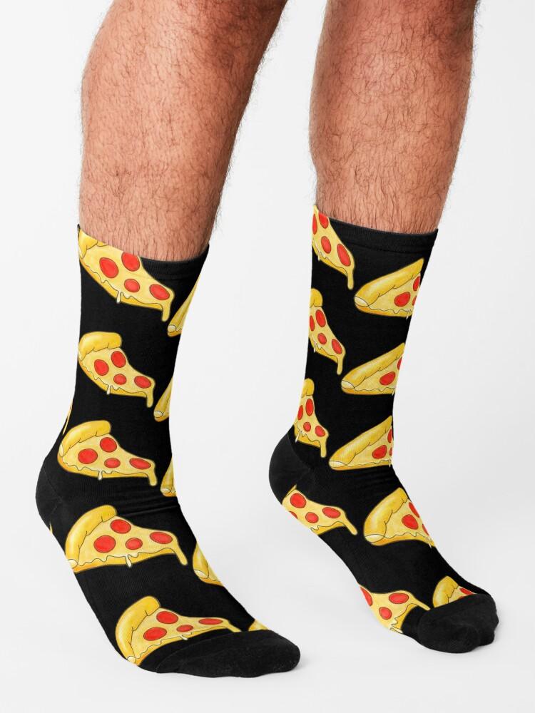 Alternate view of Pizza  Socks