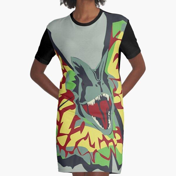 dilophosaurus Graphic T-Shirt Dress