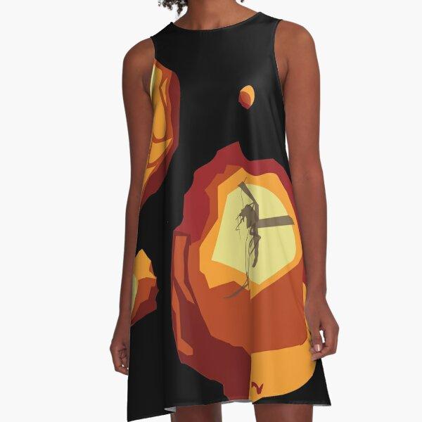 Dino Gems A-Line Dress