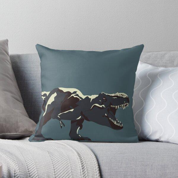 T Rex Roar Throw Pillow