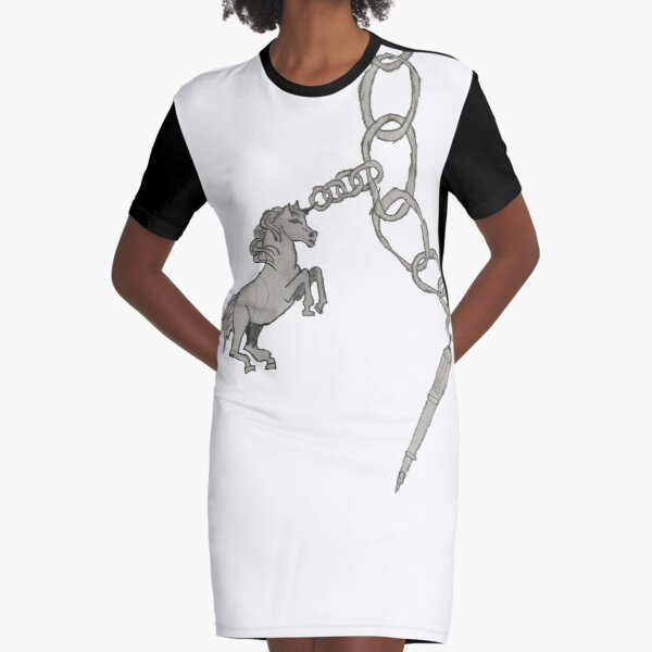 Charm Bracelet  Graphic T-Shirt Dress