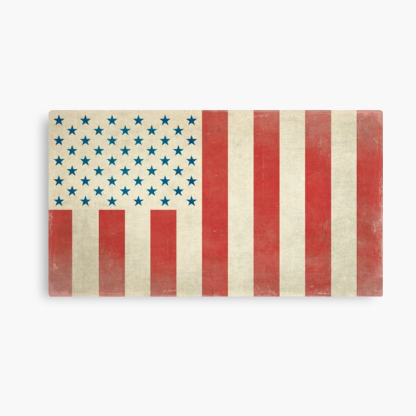 American Civilian Flag of Peace Canvas Print
