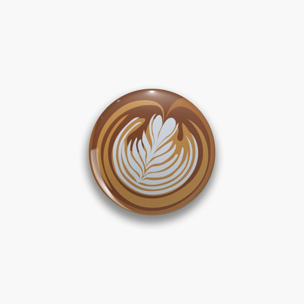 Cup-a-Cappuccino Pin