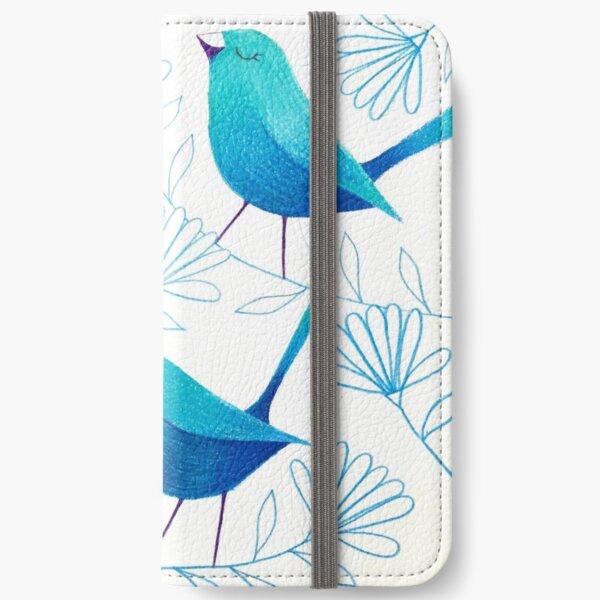 Bluebirds iPhone Wallet