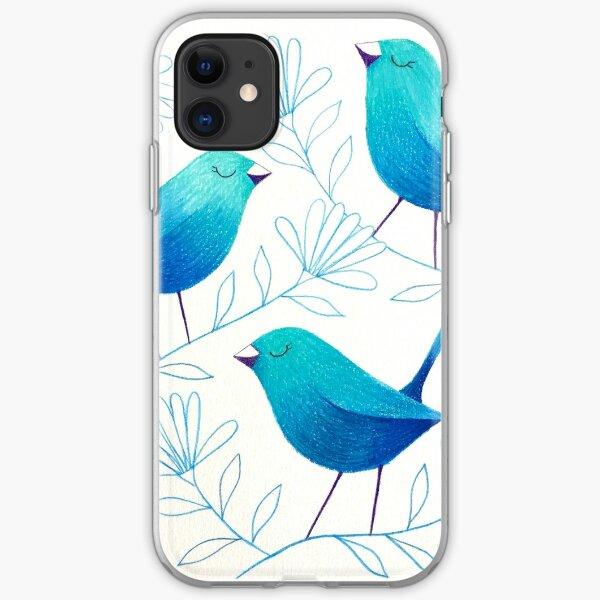 Bluebirds iPhone Soft Case