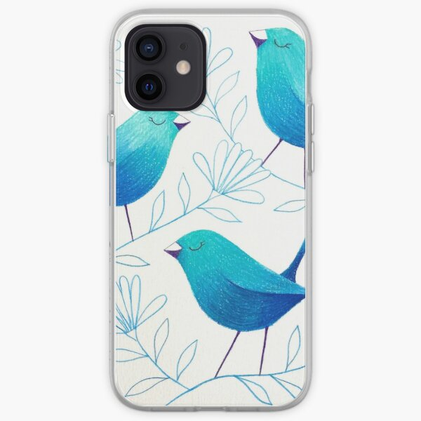 Bluebirds iPhone Soft Case