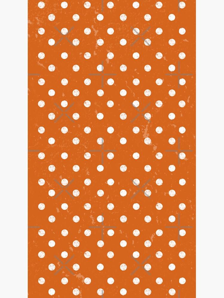 Orange Dots by darrianrebecca