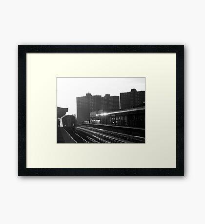 New York City Subway Framed Print