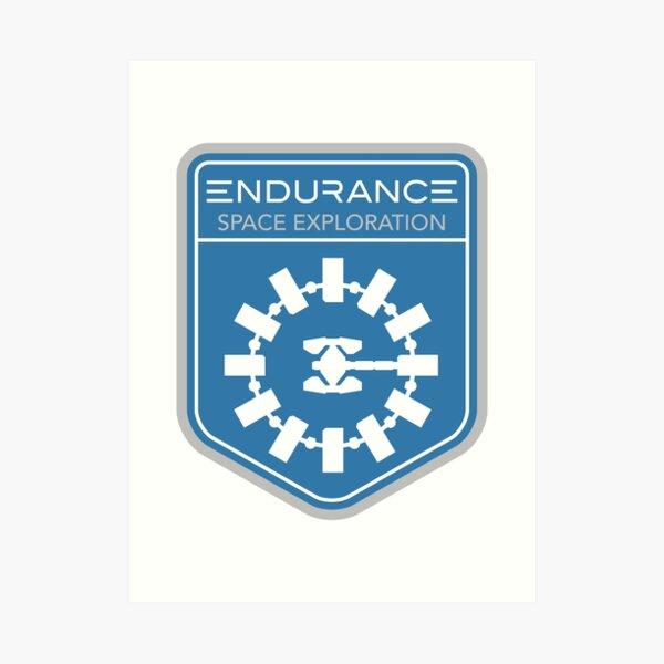 Endurance Mission Patch Art Print