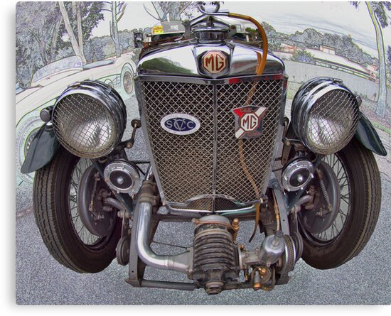 MG PA 1934 by Geoffrey Higges