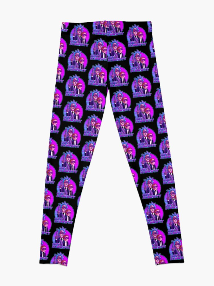 Alternate view of rick and morty get schwifty Leggings