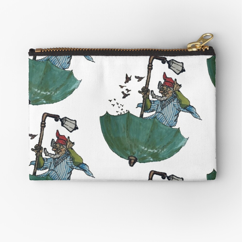 The Sage of Um (keeper of the last herd of unicorns) Zipper Pouch