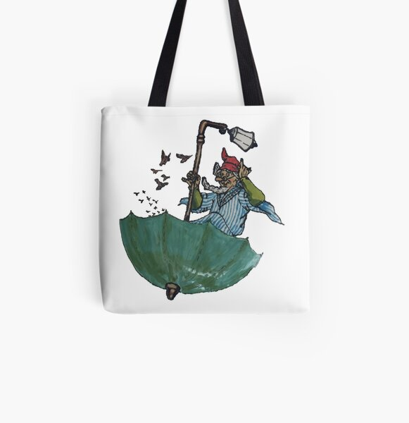 The Sage of Um (keeper of the last herd of unicorns) All Over Print Tote Bag