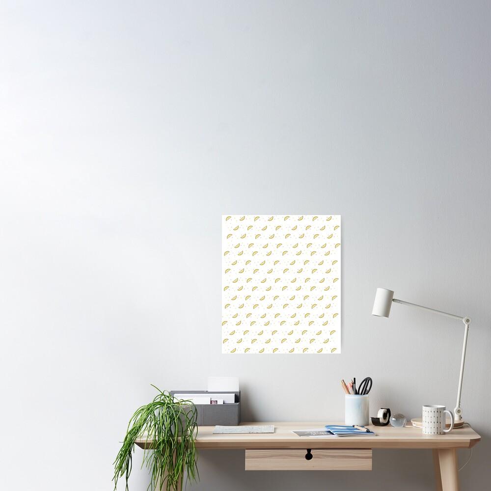 Lemon Dots Poster