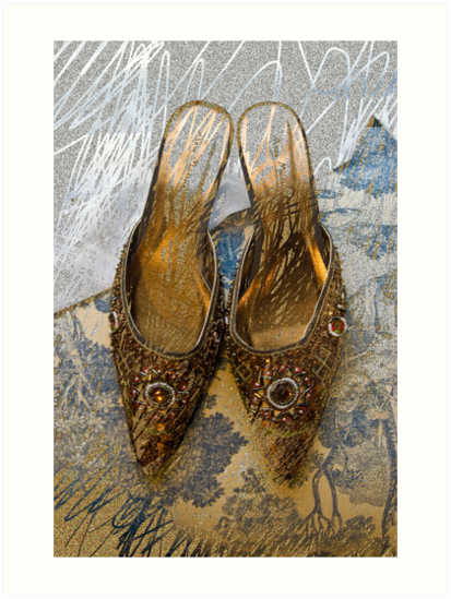 Jeweled Mules by Sarah Butcher