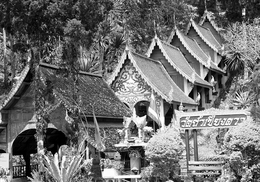 Thai Architecture by RobsVisions