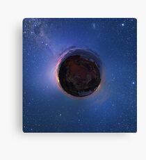 Little Planet Lovejoy Canvas Print